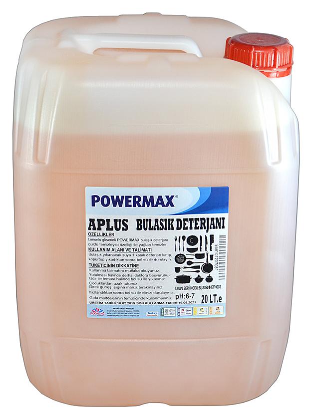 Powermax A Plus Bulaşık Deterjanı 20 lt