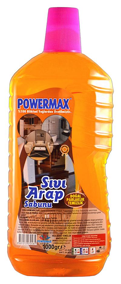 Powermax Sıvı Arap Sabunu 1000 ml