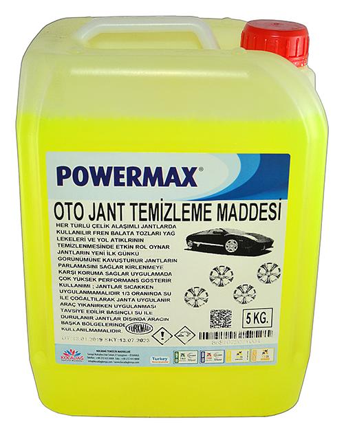 Powermax Oto Jant Temizleme Maddesi 5 lt